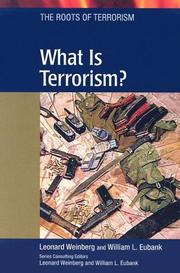 Cover of: What is terrorism? | Leonard Weinberg