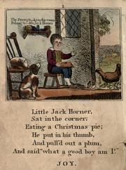 Cover of: The renowned history of Little Jack Horner |