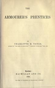 Cover of: The Armourer's Prentices