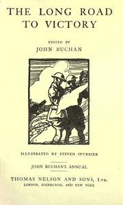Cover of: The long road to victory | John Buchan
