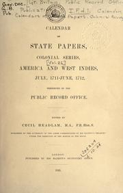 Cover of: Publications.  I.F. Calendars, etc.  Calendars of State Papers. d. 1