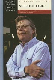 Cover of: Stephen King