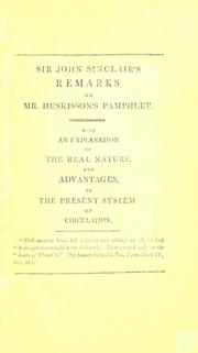 "Cover of: Remarks on a pamphlet intitled, ""The question concerning the depreciation of the currency stated and examined."" by William Huskisson, esq., M.P"