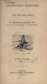 Cover of: Lusitanian sketches of the pen and pencil