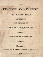 "Cover of: The Peacock and parrot on their tour to discover the author of ""The peacock at home"" 