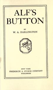 Alf's button by William Aubrey Darlington