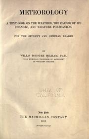 Cover of: Meteorology