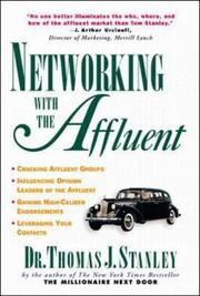 Cover of: Networking with the Affluent