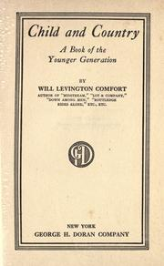 Cover of: Child and country