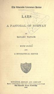 Cover of: Lars: a pastoral of Norway