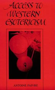 Cover of: Access to Western esotericism