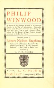 Philip Winwood by Robert Neilson Stephens