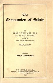Cover of: The communion of saints