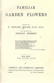 Cover of: Familiar garden flowers