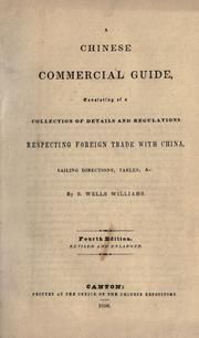 Cover of: The Chinese commercial guide
