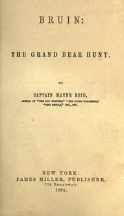 Cover of: Bruin, the grand bear hunt