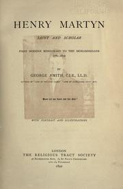 Cover of: Henry Martyn