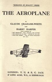 Cover of: The aeroplane