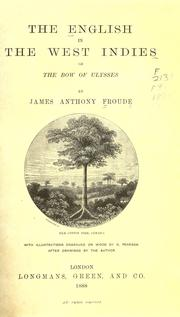 Cover of: The English in the West Indies | James Anthony Froude