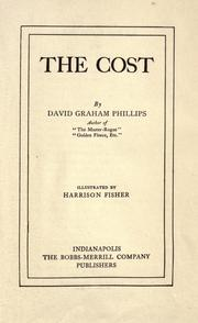 Cover of: The cost by David Graham Phillips