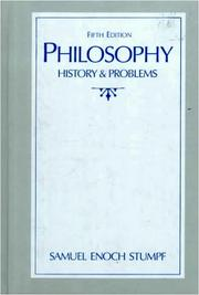 Cover of: Philosophy | Samuel Enoch Stumpf