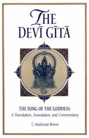Cover of: The Devi Gita: The Song of the Goddess  | Cheever Mackenzie Brown