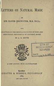 Cover of: Letters on Natural Magic