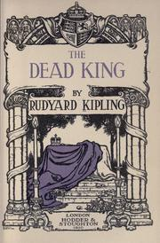 Cover of: The  dead king