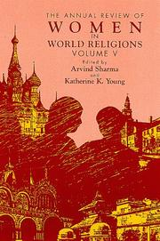 Cover of: The Annual Review of Women in World Religions |