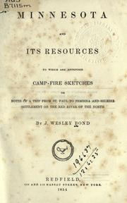 Cover of: Minnesota and its resources