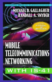 Cover of: Mobile telecommunications networking with IS-41
