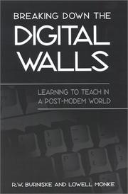 Cover of: Breaking Down the Digital Walls | R. W. Burniske