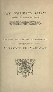Cover of: Christopher Marlowe | Christopher Marlowe