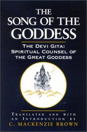 Cover of: The song of the goddess |