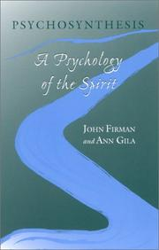 Cover of: Psychosynthesis | John Firman