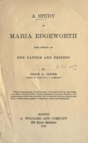 The parent's assistant by Maria Edgeworth