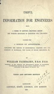 Cover of: Useful information for engineers