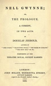 Cover of: Nell Gwynne; Or The Prologue