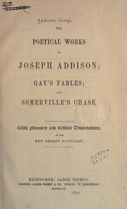 Cover of: The poetical works