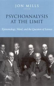 Cover of: Psychoanalysis at the Limit | Jon Mills