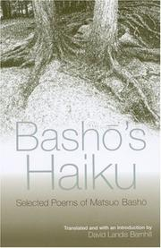 Cover of: Basho