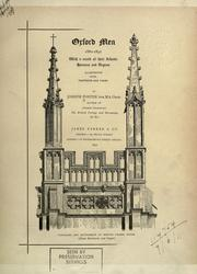 Cover of: Oxford men, 1880-1892, with a record of their schools, honours and degrees