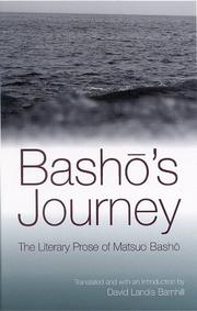 Cover of: Basho's journey