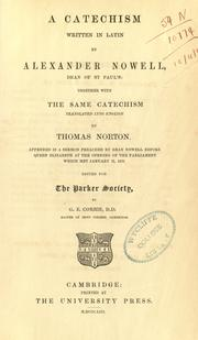 Cover of: A catechism