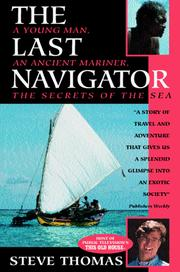 The last navigator by Stephen D. Thomas