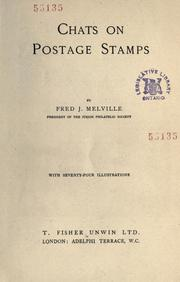 Cover of: Chats on postage stamps