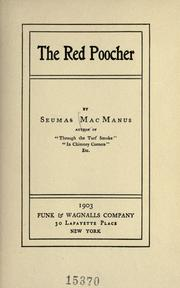 Cover of: The red poocher