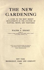 Cover of: The new gardening