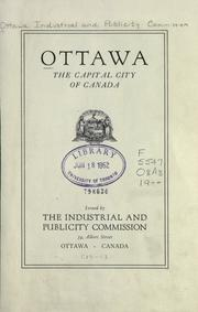 Cover of: Ottawa, the capital city of Canada