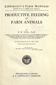 Productive Feeding of Farm Animals by F. W. Woll